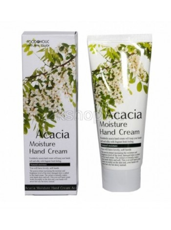 FoodaHolic Acacia Moisture Hand Cream Увлажняющий крем для рук с акацией