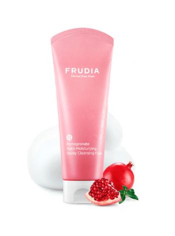 Frudia Pomegranate Nutri-Moisturizing Sticky Cleansing Foam Питательная пенка-суфле для умывания с гранатом
