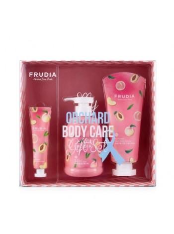 Подарочный набор косметики с персиком Frudia Peach Lover