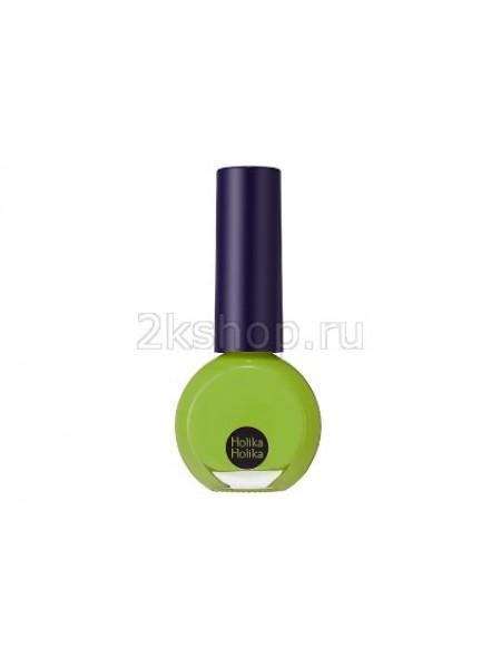 Holika Holika Basic Nails  GR01 Apple Green Лак для ногтей Бейсик нейлз Зеленое яблоко
