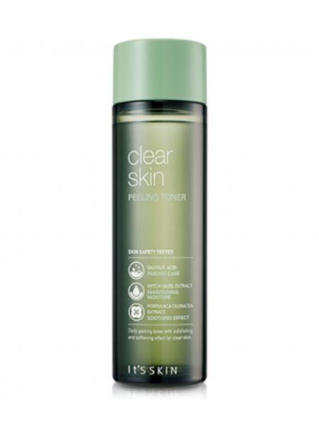 It's Skin Clear Skin Peeling Toner Тонер-пилинг против черных точек