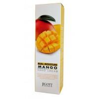 Крем для рук с экстрактом манго Jigott Real Moisture Mango Hand Cream Real Moisture