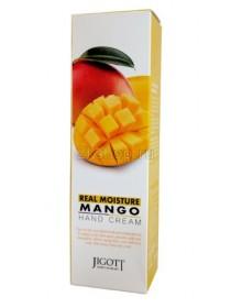 Jigott Real Moisture Mango Hand Cream Real Moisture Крем для рук с экстрактом манго