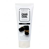 Пилинг скатка с древесным углем Jigott  Premium facial Charcoal Peeling Gel