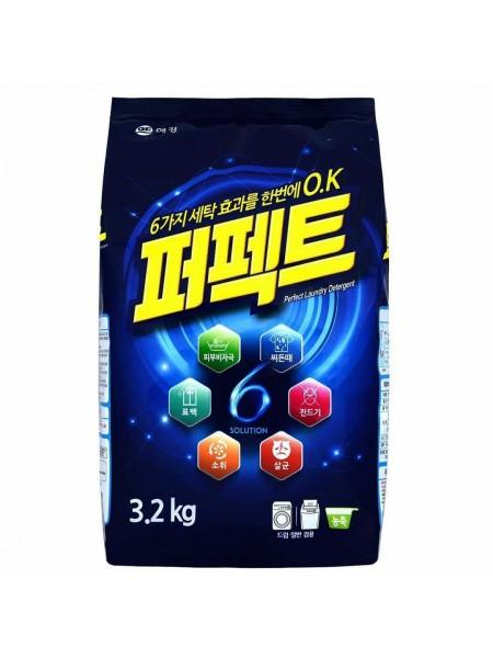 Концентрированный стиральный порошок универсальный 3,2 кг Aekyung Perfect 6 Solution