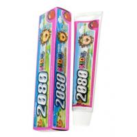 Kerasys 2080 Kids Strawberry Tooth paste Детская зубная паста Клубника