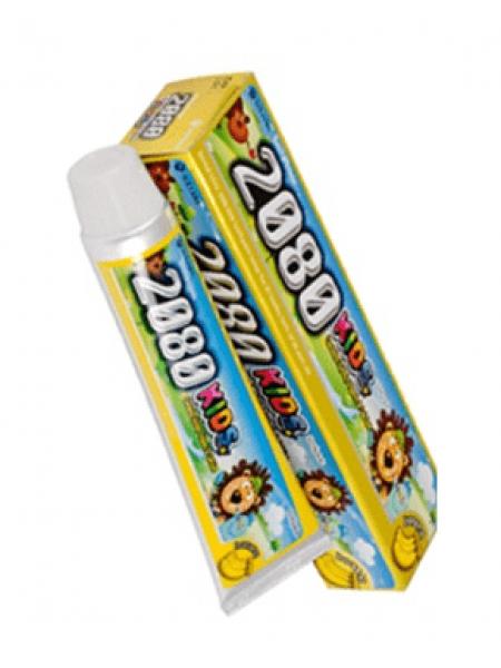 Kerasys 2080 Kids Banan Tooth paste Детская зубная паста Банан