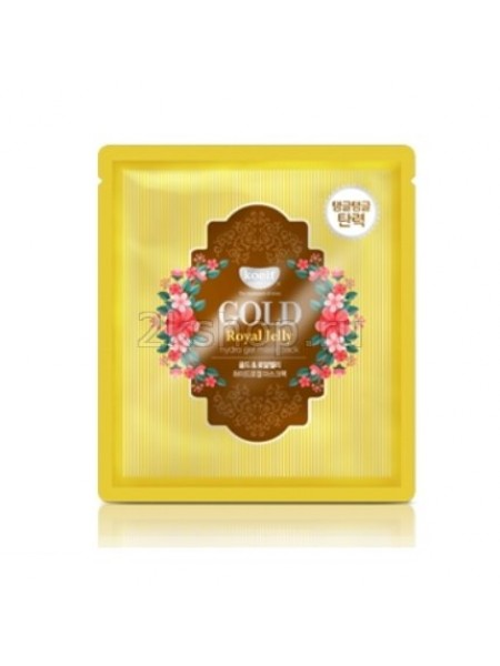 Гидрогелевая маска с золотом и маточным молочком Koelf Gold & Royal Jelly Hydro Gel Mask Pack