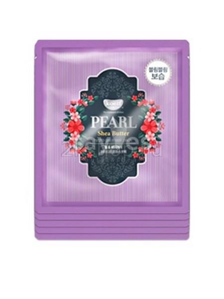 Гидрогелевая маска с жемчугом и маслом Ши KOELF Pearl & Shea Butte Hydro Gel Mask Pack