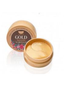 Koelf Гидрогелевые патчи для век с золотом и маточным молочком (60 шт.) Gold & Royal Jelly  Hydro Gel Eye Patch