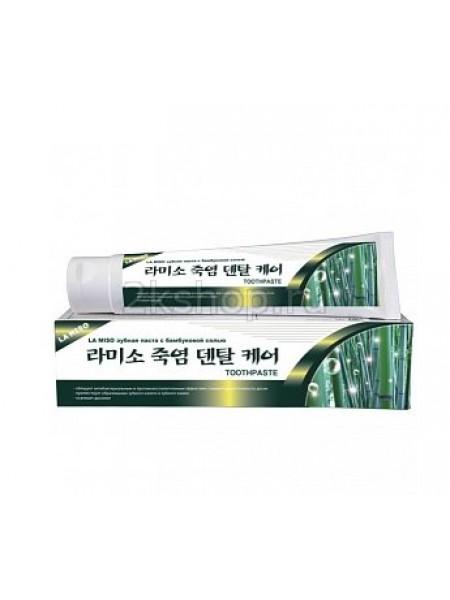 La Miso Bamboo Salt Dental Care Toothpaste Зубная паста с бамбуковой солью