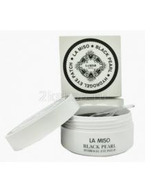 La Miso Гидрогелевые патчи для глаз с черным жемчугом  Black Pearl Hydrogel Eye Patch (60 шт.)