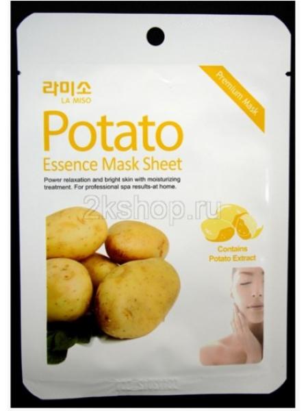 La Miso Potato Essence Mask Тканевая маска с экстрактом картофеля