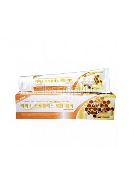 La Miso Propolis Dental Care Toothpaste  Зубная паста с экстрактом прополиса
