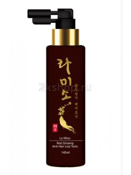 La Miso Red Ginseng  Anti Hair Loss Tonik Тоник против выпадения волос с экстрактом красного женьшеня