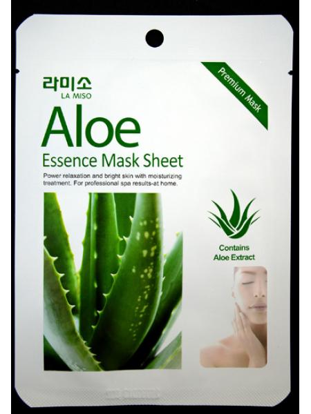 La Miso Aloe Essence Mask Тканевая маска с экстрактом алоэ