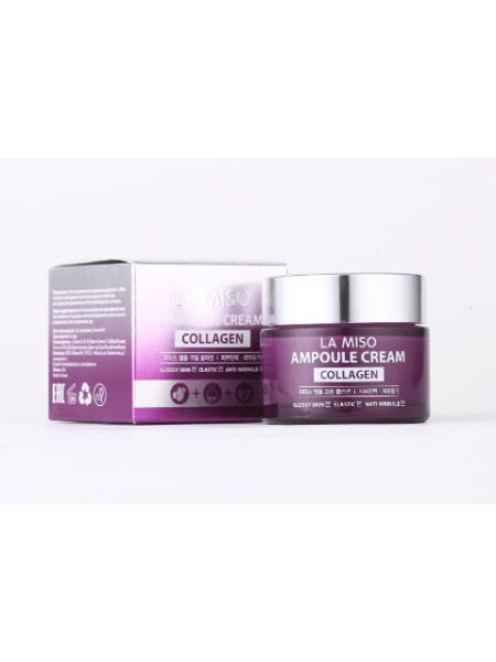 La Miso Ampoule Cream Collagen  Ампульный крем с коллагеном