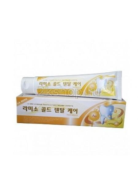 La Miso Gold Dental Care Toothpaste Зубная паста с частицами золота