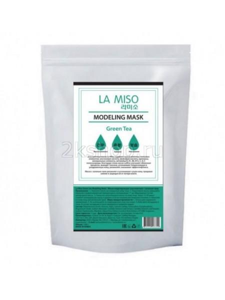 La Miso Green tea Modeling Mask  Альгинатная моделирующая маска с зеленым чаем