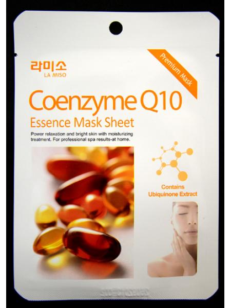 La Miso Red Qoenzyme Q10  Essence Mask Маска с Коэнзимом Q10