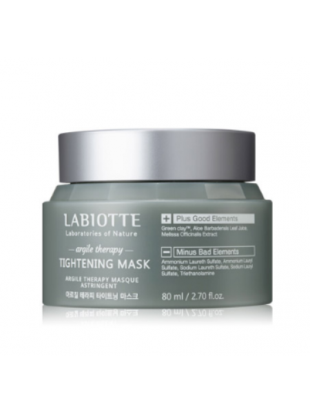 Labiotte Argile Therapy Tightening Mask Маска для сужения пор