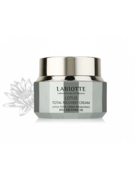 Labiotte Lotus Total Recovery Cream Восстанавливающий крем c экстрактом лотоса