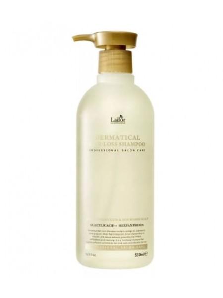 Безсульфатный шампунь против выпадения волос Lador Dermatical Hair-Loss Shampoo
