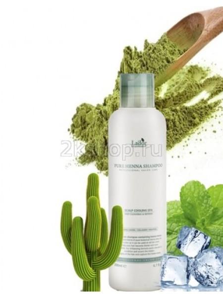 La'dor Pure Henna Shampoo Шампунь для волос с хной укрепляющий