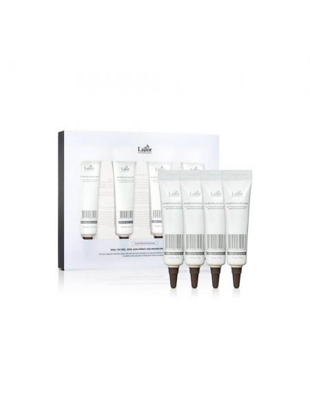 Пилинг для кожи головы и  волос  набор La'dor Scalp Scaling Spa  15G x 4EA