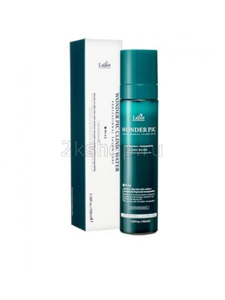 La'dor  Wonder Pick Clinic Water Увлажняющий мист для волос с гидролизованным шелком