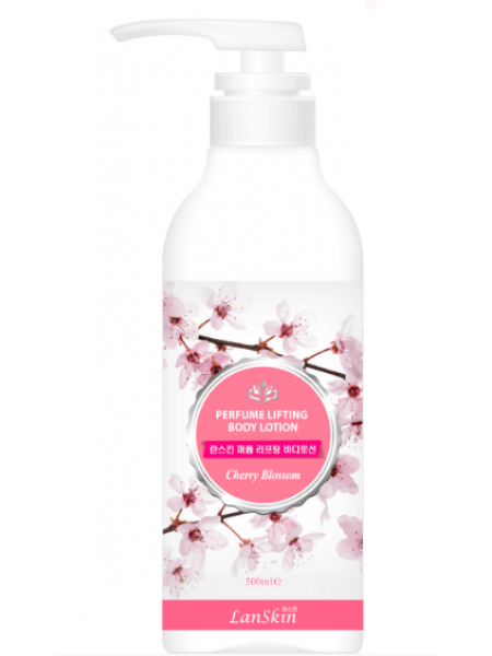 LANSKIN Perfume Lifting Bode Lotion Cherry Blossom Парфюмированный лифтинг-гель для душа (цветы сакуры)