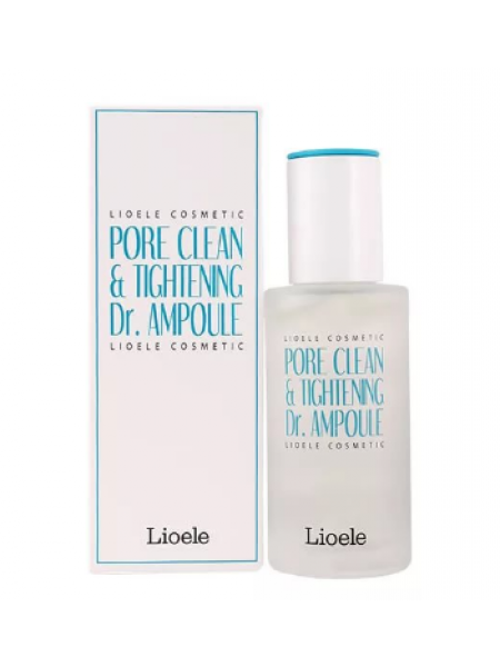 Сыворотка для сужения пор Lioele Pore Clean & Tightening Dr. Ampoule Pore Control