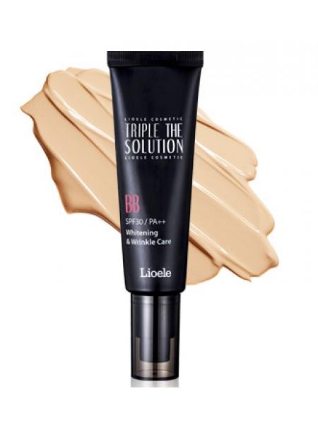 ББ крем с тройной функцией Lioele Triple the Solution BB Cream, SPF 30 PA++