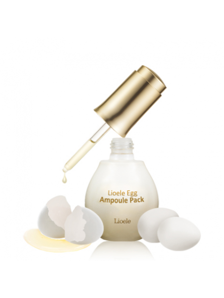Lioele Egg Ampoule Pack  Яичная лифтинг маска-сыворотка