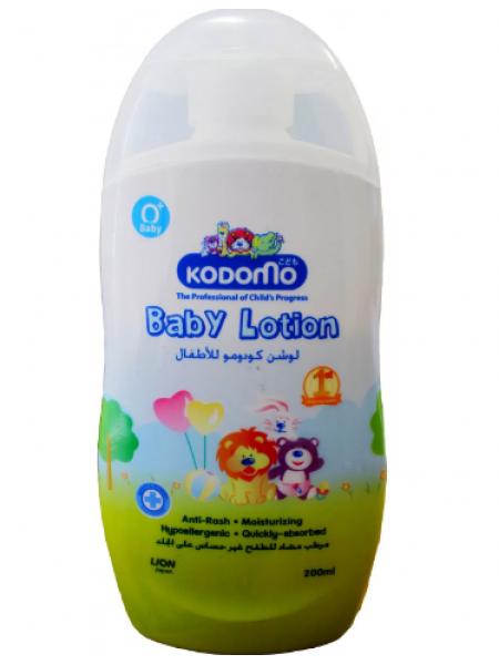 LION KODOMO Baby Lotion Powder Детский лосьон - жидкая присыпка против раздражения (0+)