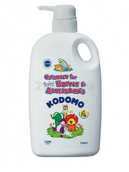 LION KODOMO Cleanser For Bottle And Accessories Refill Pack Средство для мытья детских бутылок и сосок /дозатор/