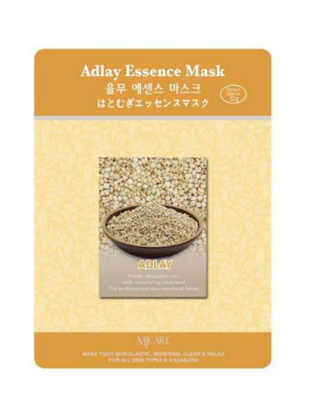 Mijin Adlay Essence Mask  Тканевая маска с адлай