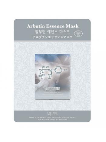 Тканевая маска для лица с арбутином Mijin Arbutin Essence Mask