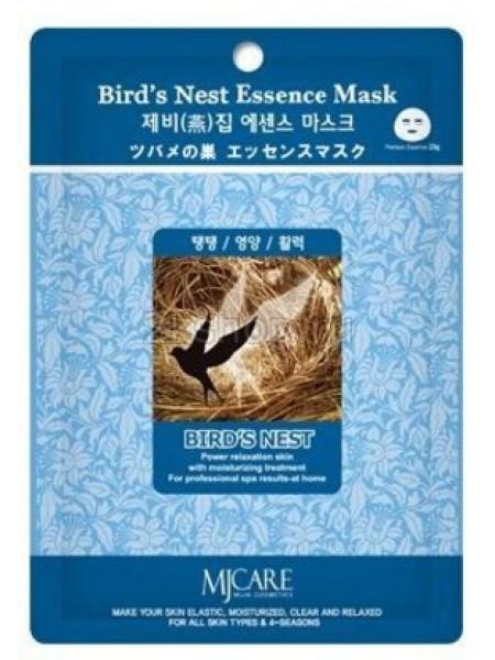 Mijin Bird`s Nest Essence Mask Тканевая маска  ласточкино гнездо