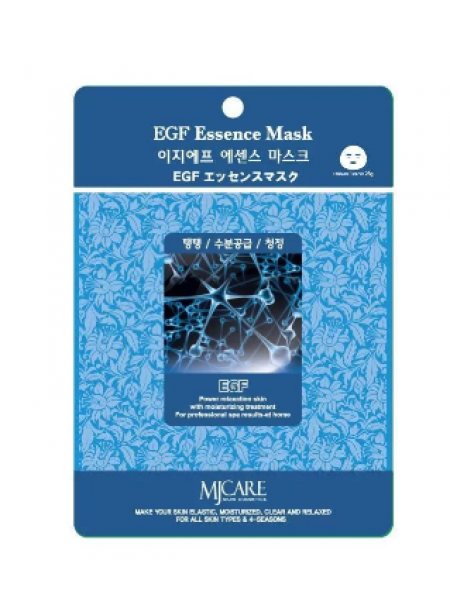Mijin EGF Essence Mask Тканевая маска  с фактором роста антивозрастная