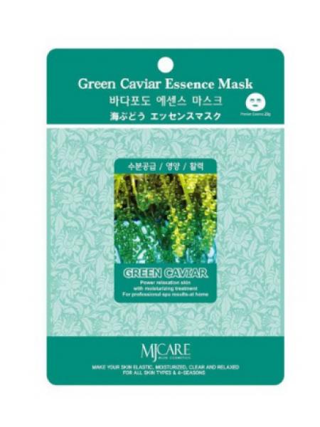 Mijin Green Caviar Essence Mask Маска тканевая морской виноград
