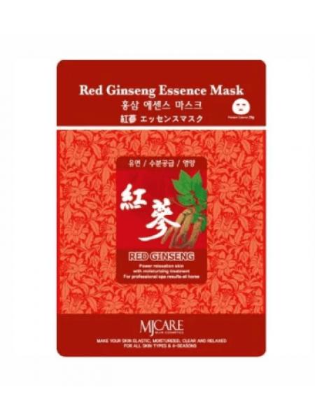 Mijin Red Ginseng Essence Mask Тканевая маска с красным женьшенем