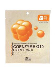 Mijin Coenzyme Q10 Essence Mask  Антивозрастная тканевая маска с коэнзимом Q10