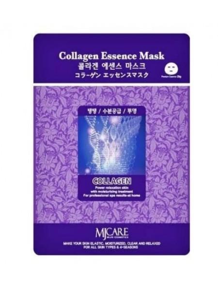 Mijin Collagen Essence Mask Маска тканевая с коллагеном
