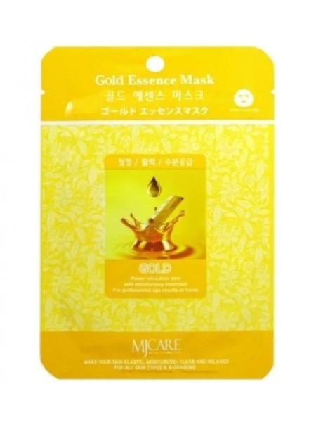 Омолаживающая тканевая маска с золотом Mijin  Gold Essence Mask