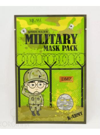 Mijin MJ Military mask Тканевая маска для лица мужская