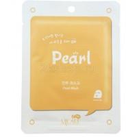 Mijin  Pearl mask pack  Тканевая маска с экстрактом жемчуга