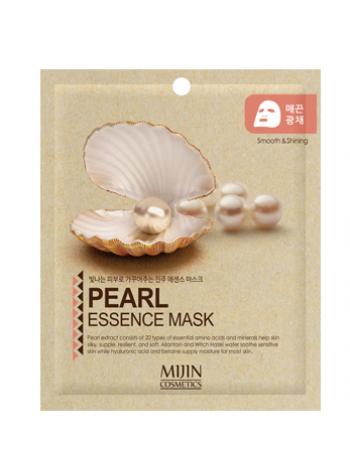 Mijin Cosmetics Pearl Essence Mask Тканевая маска с жемчугом