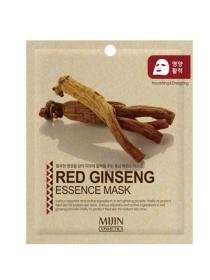 Mijin Cosmetics Red Ginseng Essence Mask Антивозрастная тканевая маска с экстрактом красного женьшеня
