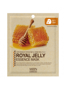 Mijin Cosmetics Royal Jelly Essence Mask Тканевая маска для лица Маточное молочко